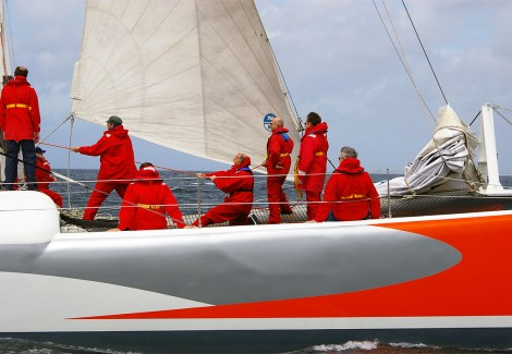 Team Building Voile