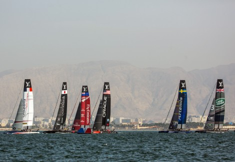 Flotte AC45 World Series Americas-Cup